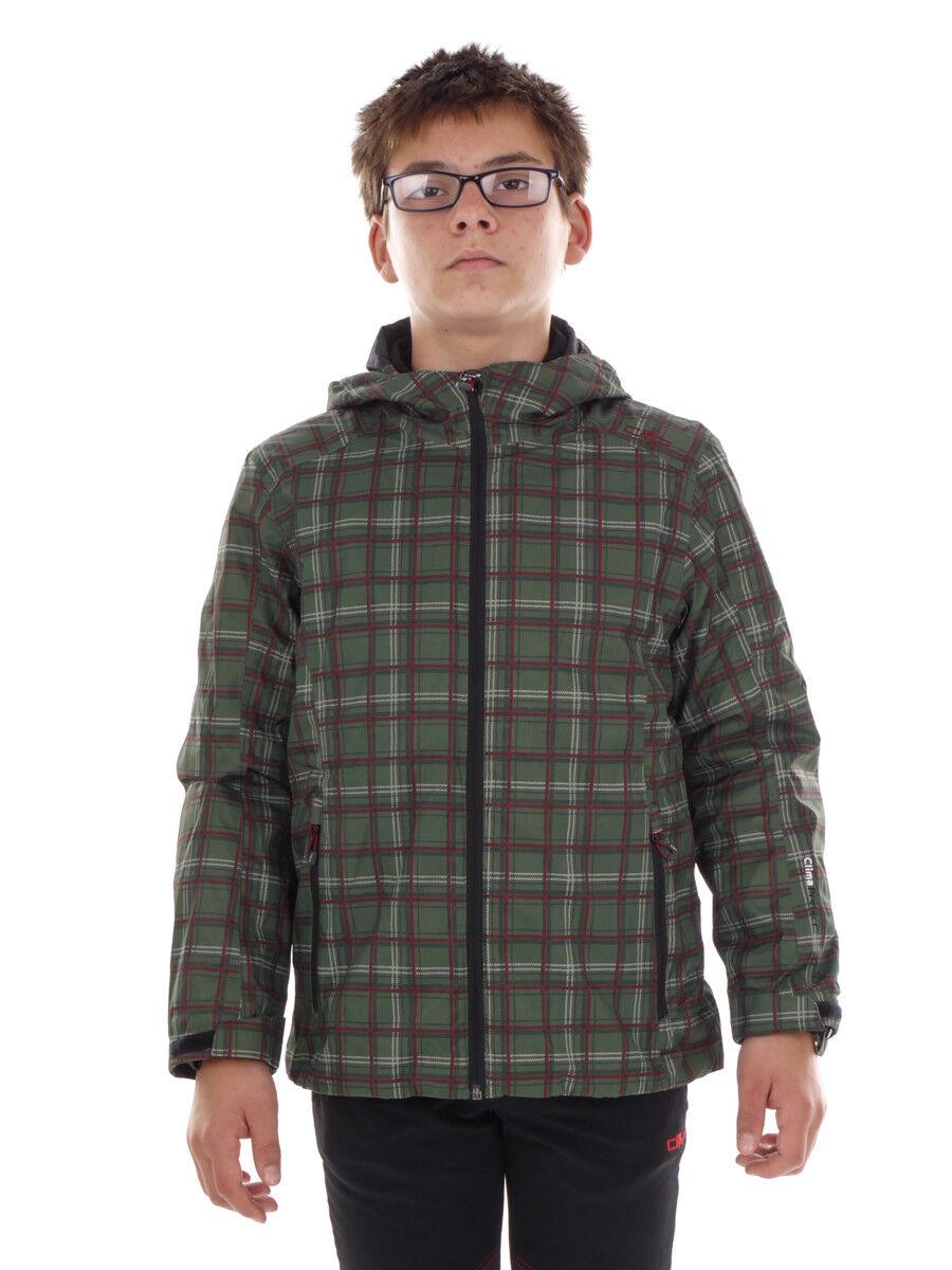 divertiuominitozione CMP Giacca con cappuccio giacca giacca interna verde ClimaProssoect ® caldo
