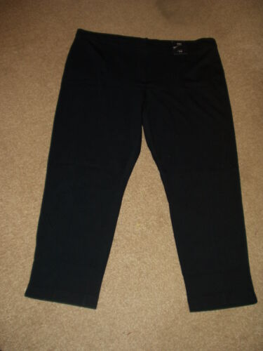 SLIM SHORT LADIES TROUSERS MARKS /& SPENCER.BNWT SIZE 20 MID RISE
