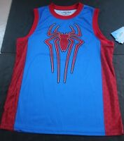 Spiderman Basketball Jersey Mens Medium Shirt Tank Top