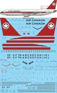 26Decals 1/144 Lockheed L-1011 TriStar - Air Canada Decals