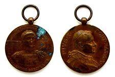 Medaglia Religiosa Pius X Pont Max A. X Constantino Augustus Libertatis Christia