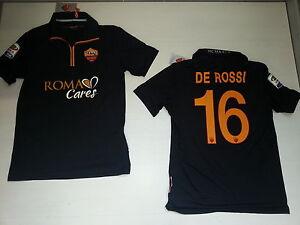 Shirt Negro Roma As Camiseta 2690 Jersey 2013 Rojo Cuidados Match Maillot De nPUxABYwq