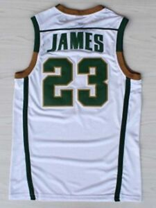 Lebron James 23 St Vincent St Mary Irish High School Stitched ... 4e78cac53