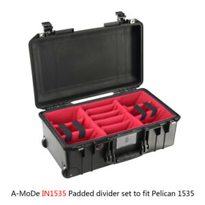 Yellow A-Mode Padded Divider Set to fit Pelican1535 Air /… N0 case