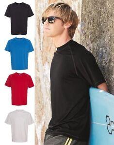Burnside Mens Sun Protection Rashguard Swim Shirt