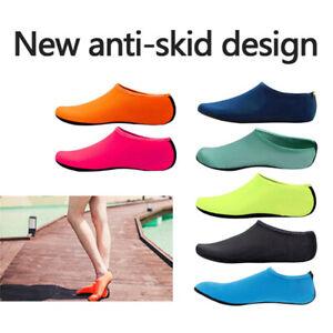 Aqua Socks Mens Womens Kids Water Socks Slip On Sea Wet Boots Beach Swim Shoes