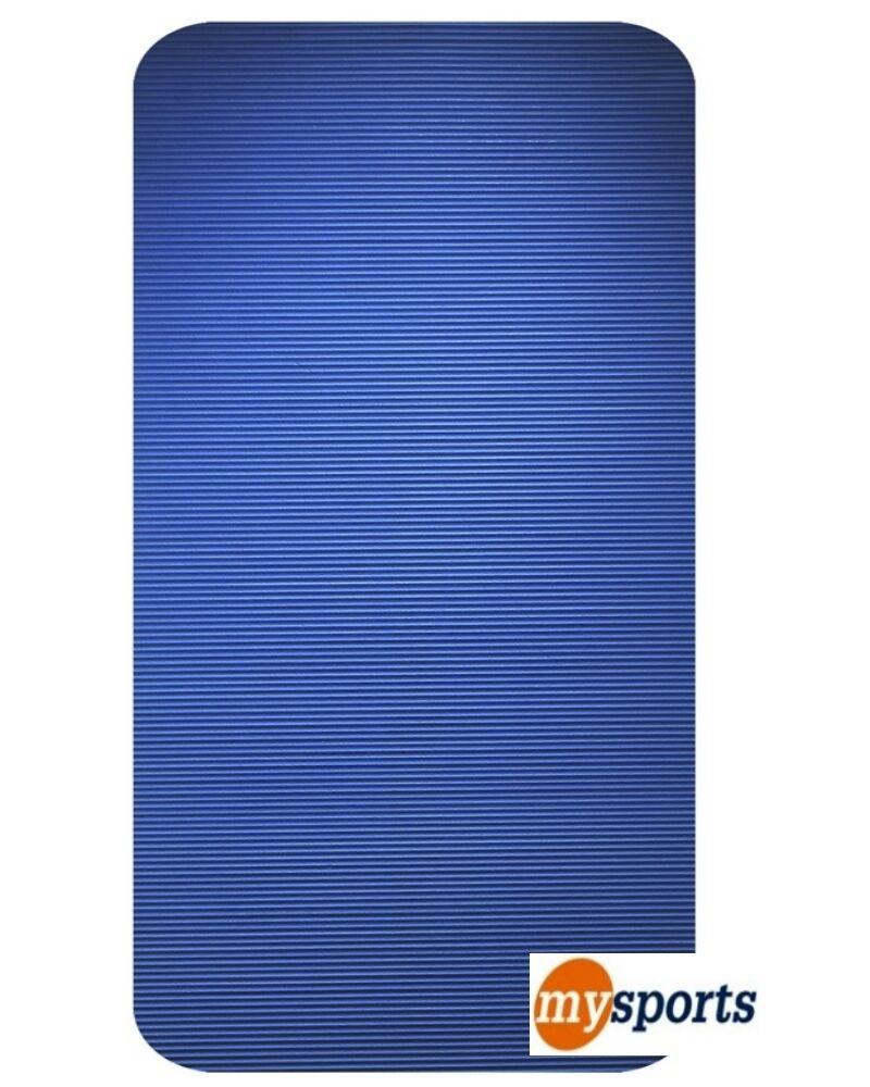 Yogamatte Pilatesmatte Turnmatte Bodenmatte Gymnastik Matte 140 x 60 x 10 - blue