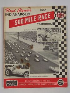 1960-Indianapolis-500-Floyd-Clymer-039-s-Yearbook-History-Jim-Rathmann-Watson-Offy
