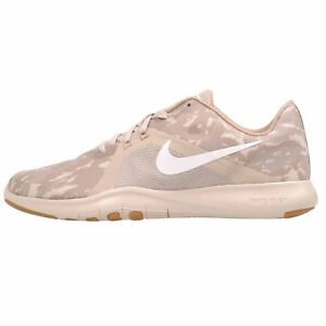 fe1a2fa4237 Nike W Flex Trainer 8 Print Cross Training Womens Shoes Desert Sand ...
