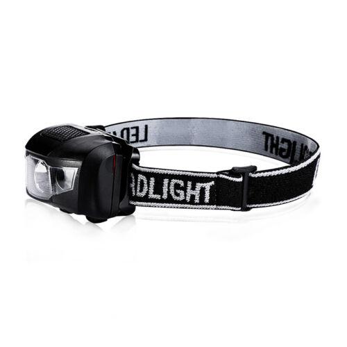 Head Lamp Waterproof White Led Red Flashlight Headlight Headlamp Torch Light