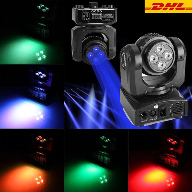 90W LED Moving Head Bühnenbeleuchtung RGBW Lichteffekt Bühnenlicht DMX512 DJ DE1
