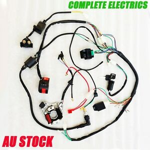 4-Stroke-Complete-Electrics-CDI-Coil-Spark-plug-Rectifier-Solenoid-Thumpster-AU