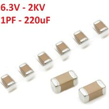 50pcs 63v To 2kv 1206 Smdsmt Capacitors Range 1pf To 220uf Ceramic Mlcc