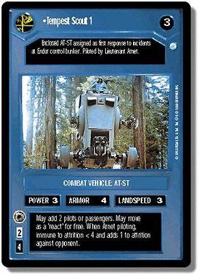 Star Wars CCG Endor Rare Cards Part 1//3