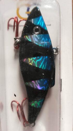 16g predx Rainbow Rattler Tiger leurres pour pêche brochet /& predator wb01
