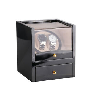 Piano-Gloss-2-0-Safe-Automatic-Rotation-Watch-Winder-Box-with-Drawer