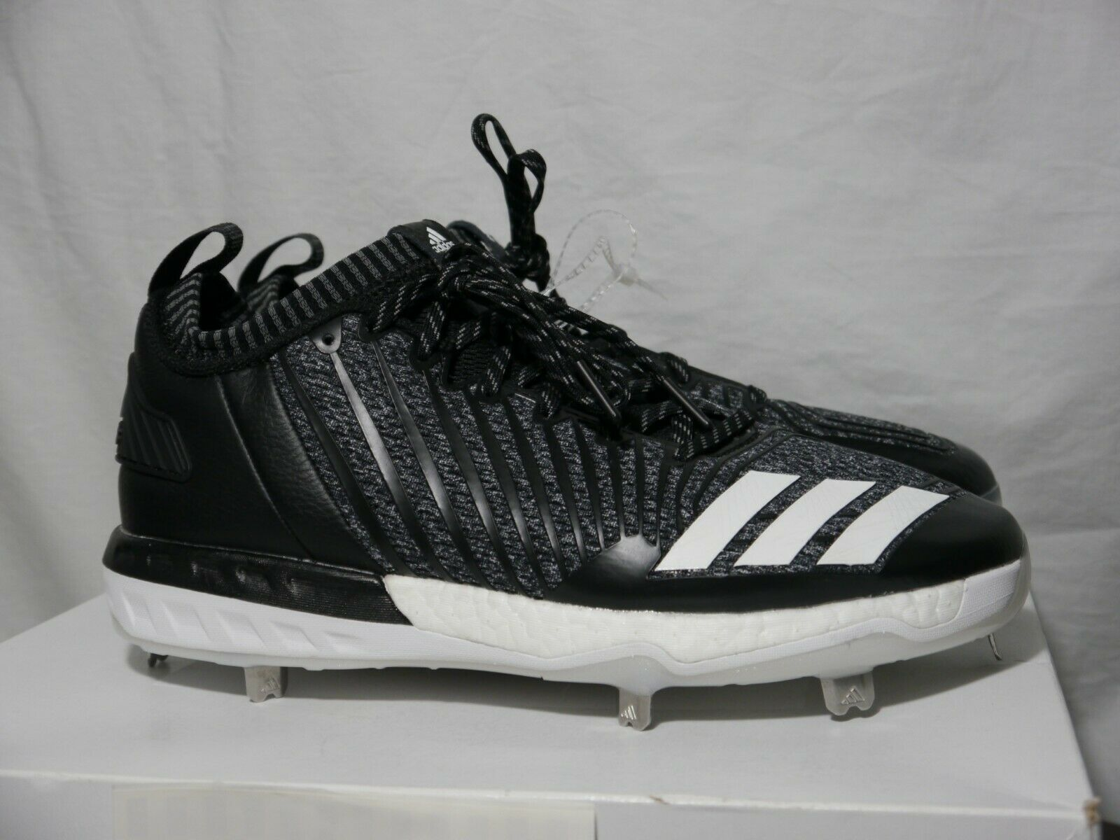 100% authentic e50d0 be2d2 Adidas Boost Icon 3 Men s Metal Baseball Cleats Size 9 BY39165