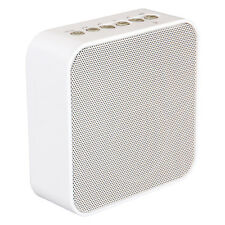 AudioAffairs - Plug Radio Küchenradio weiß  - FM-Radio, Bluetooth, Powerbank