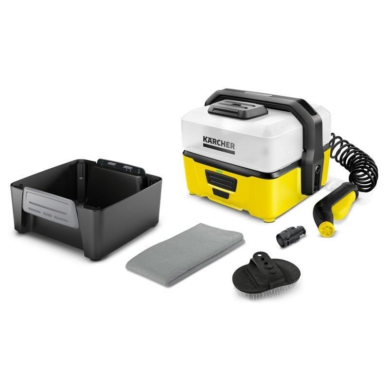 Kärcher OC 3 Mobile Outdoor Cleaner inkl. Pet Box 2 l/min 2,8 m Spiralschlauch