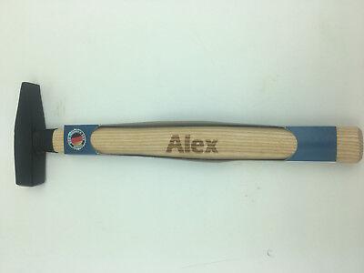 """Hammer mit Namen /""""Alex/"""" Lasergravur Made in Germany"""