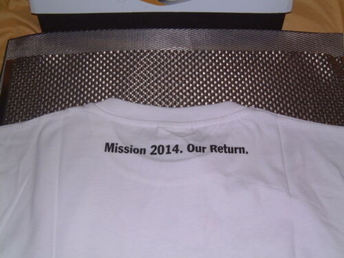 """PORSCHE DESIGN SELECTION RACING /""""OUR MISSION/"""" T-SHIRT FOR 2014 EURO M=USA S NOS"""