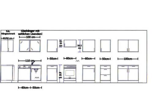 Hochschrank MANKASIGMA Vanille//Sonoma BxH 50x145 cm Mehrzweck Geschirrschrank