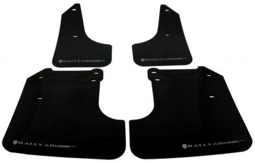 Rally Armor 08-10 WRX /& 08-11 Subaru 2.5i UR Black Mud Flaps Flap w// Silver Logo