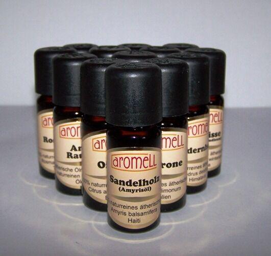 100 % ätherisches Öl, naturrein,ätherische Öle, Aromell, 10ml,  59 Sorten