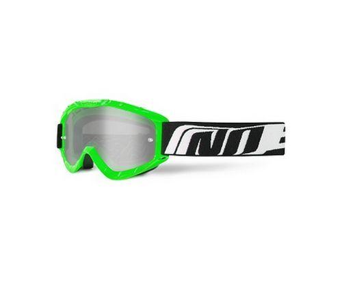 Lunette cross vert NOEND 3.6 Series masque tear-off moto scooter motocross NEUF