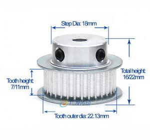 Qty1 Timing Belt Pulley Gear Wheel Sprocket XL10T Bore 5mm For 10mm Width Belt