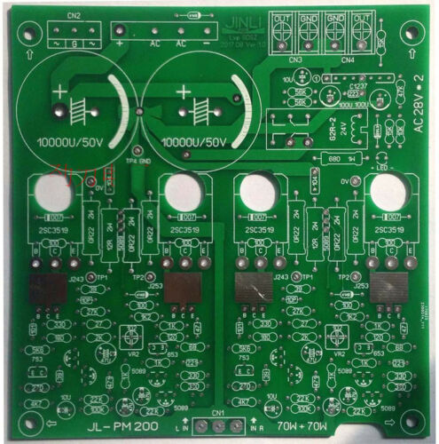 DIY NAIM NAP200 Audo Power Amplifier PCB based on NAIM AMP Module 2SC3519