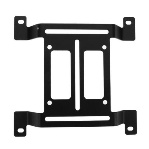 12cm Metal Water Cooling Radiator Support Holder Water Pump Reservoir Stand