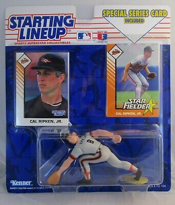 Cal Ripken Jr MLB Headline Collection 1993 Starting Lineup SLU Orioles New