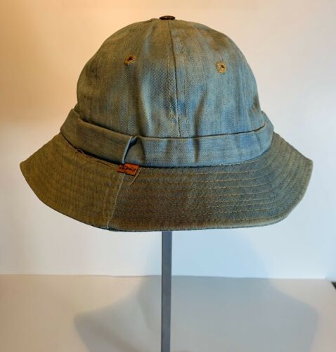 Vintage LEVIS Orange Tab Denim Bucket Hat Daisy Ma