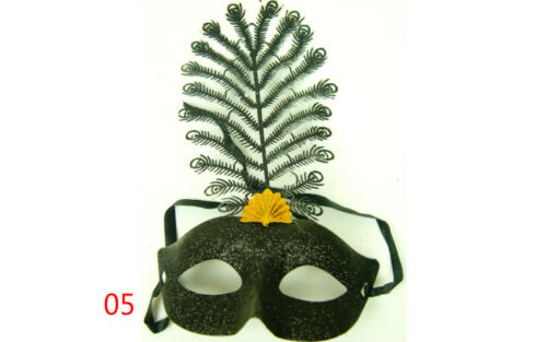 New Luxurious Feather Venetian Masquerade Halloween Party Ball Costume Masks