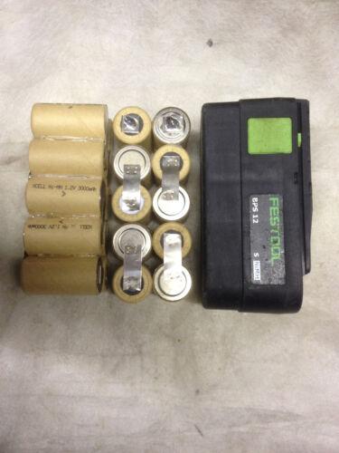 2  Kit remplacement batterie FESTOOL 12 V en 2Ah battery bateria aku