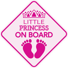 Little Fairy on Board Decal Car Sticker Window Decal Disney Baby Tinkerbell Inspired Caution Sign Baby Shower Gift Baby Present