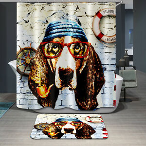Image Is Loading Punk Style Cartoon Puppy Dog Captain Design Custom
