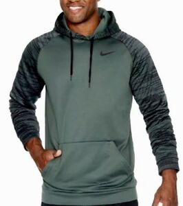 Nike Therma Dri Fit Hoodie Sweatshirt Big   Tall 3XLT Green Pullover ... fb87a3e64