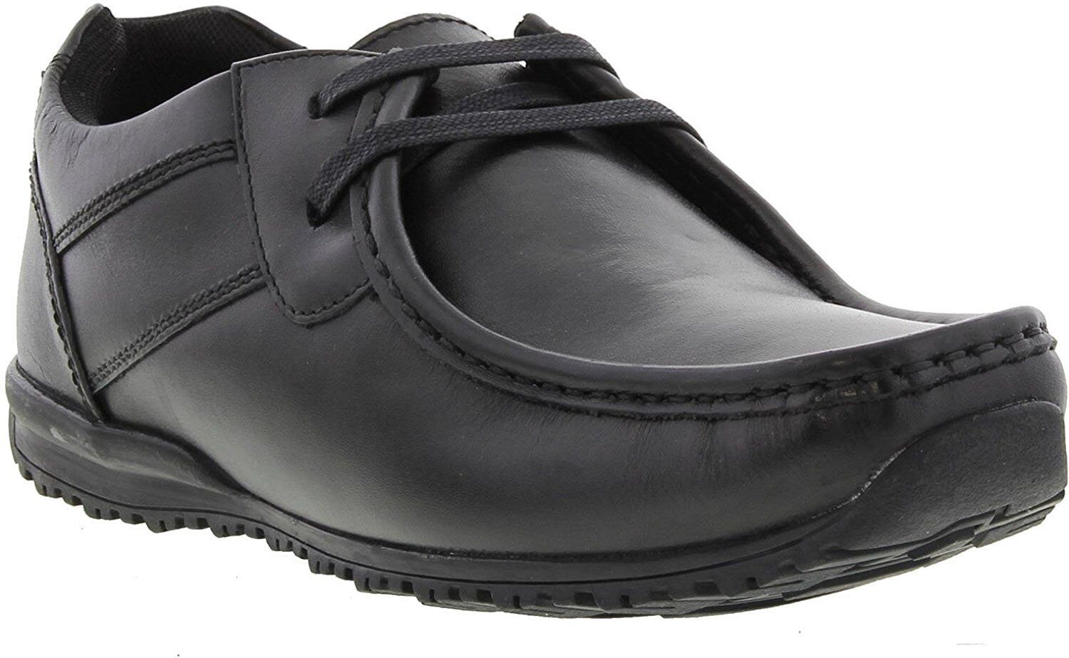 Mens Leather Ikon Leather Mens Shoes - Tide Black 84209c