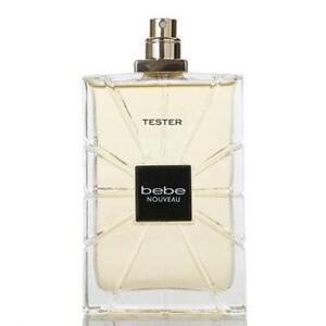 BEBE NOUVEAU women perfume edp 3.4 oz 3.3 NEW TESTER