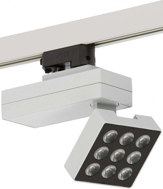 Ridi-Leuchten LED-Strahler KARO-S 2500-840 M-SI IP20 Ridi-Leuchten 0321885SI
