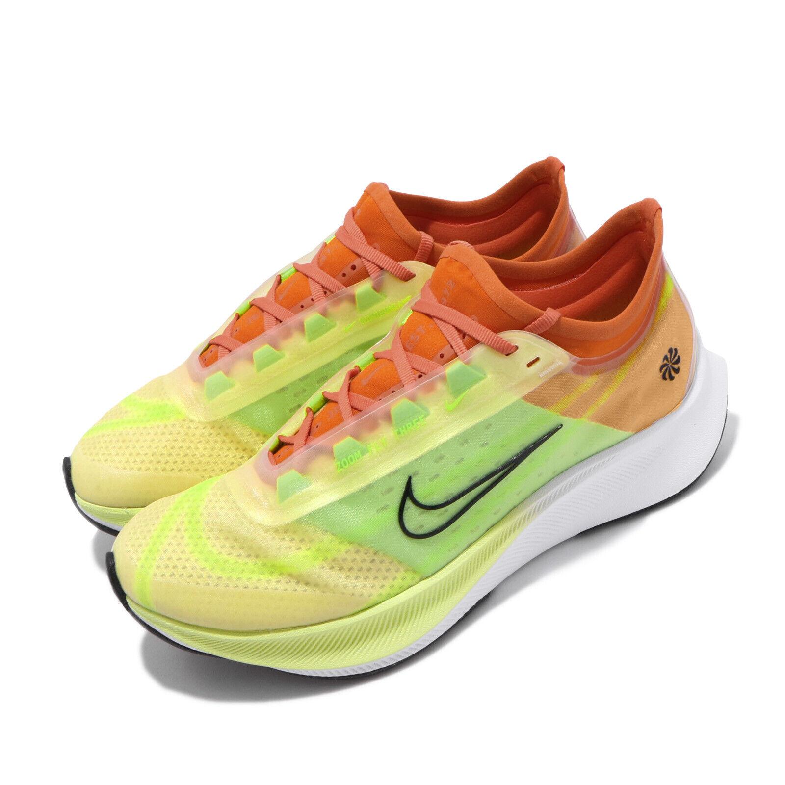 Nike Wmns Zoom Fly 3 Rise Luminous Green Starfish Women Running shoes CQ4483-300