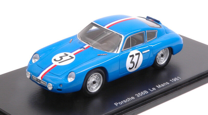 PORSCHE 356b Carrera Abarth GTL  37 DNF LM 1961 Huchet/Monneret 1:43 Model
