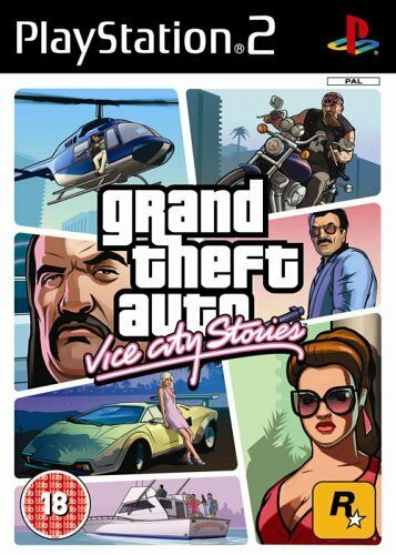 1 of 1 - Grand Theft Auto: Vice City Stories - Playstation 2 (PS2) - UK/PAL