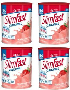 SlimFast-Nutrition-Meal-Replacement-Strawberry-Shake-Weight-Loss-12-Oz-4-Pack