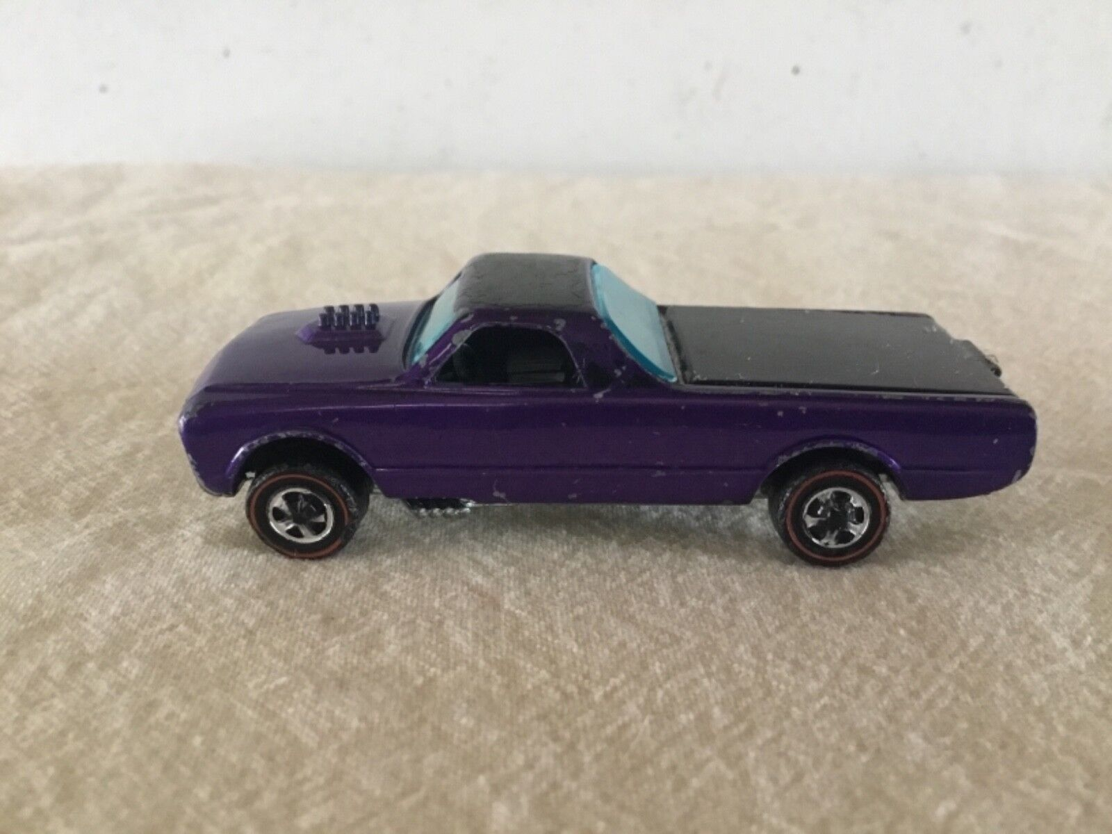 Hot Wheels custom fleet side metallic purple red line u.s.