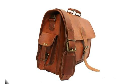 Opinion, false solo vintage leather messenger bag