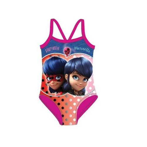 Miraculous Ladybug Badeanzug Mädchen Bademode Pink Blau 98 NEU