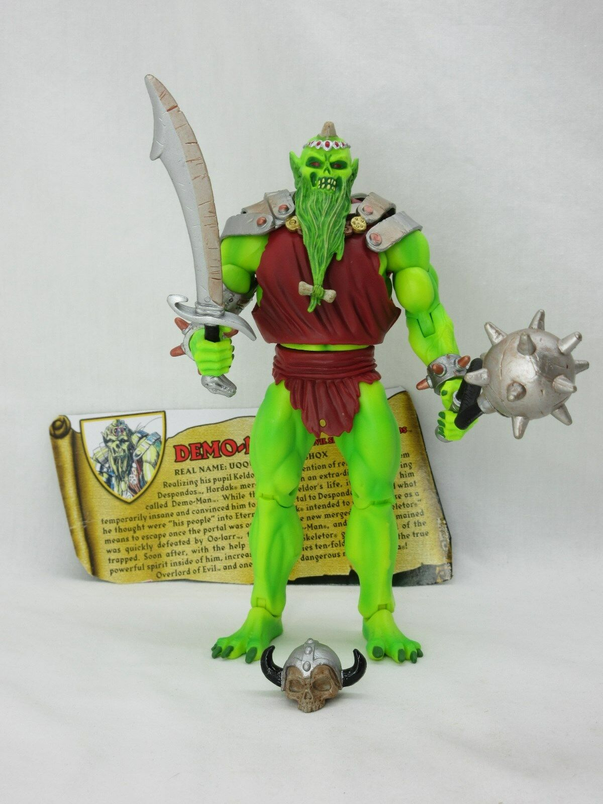 MOTUC,MOTU,DEMO-MAN,Masters Of The Universe Classics,figure,He man